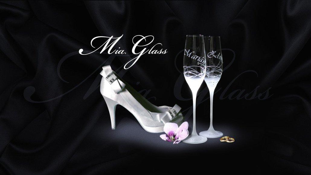 Mia Glass - fotomontáž pre www baner