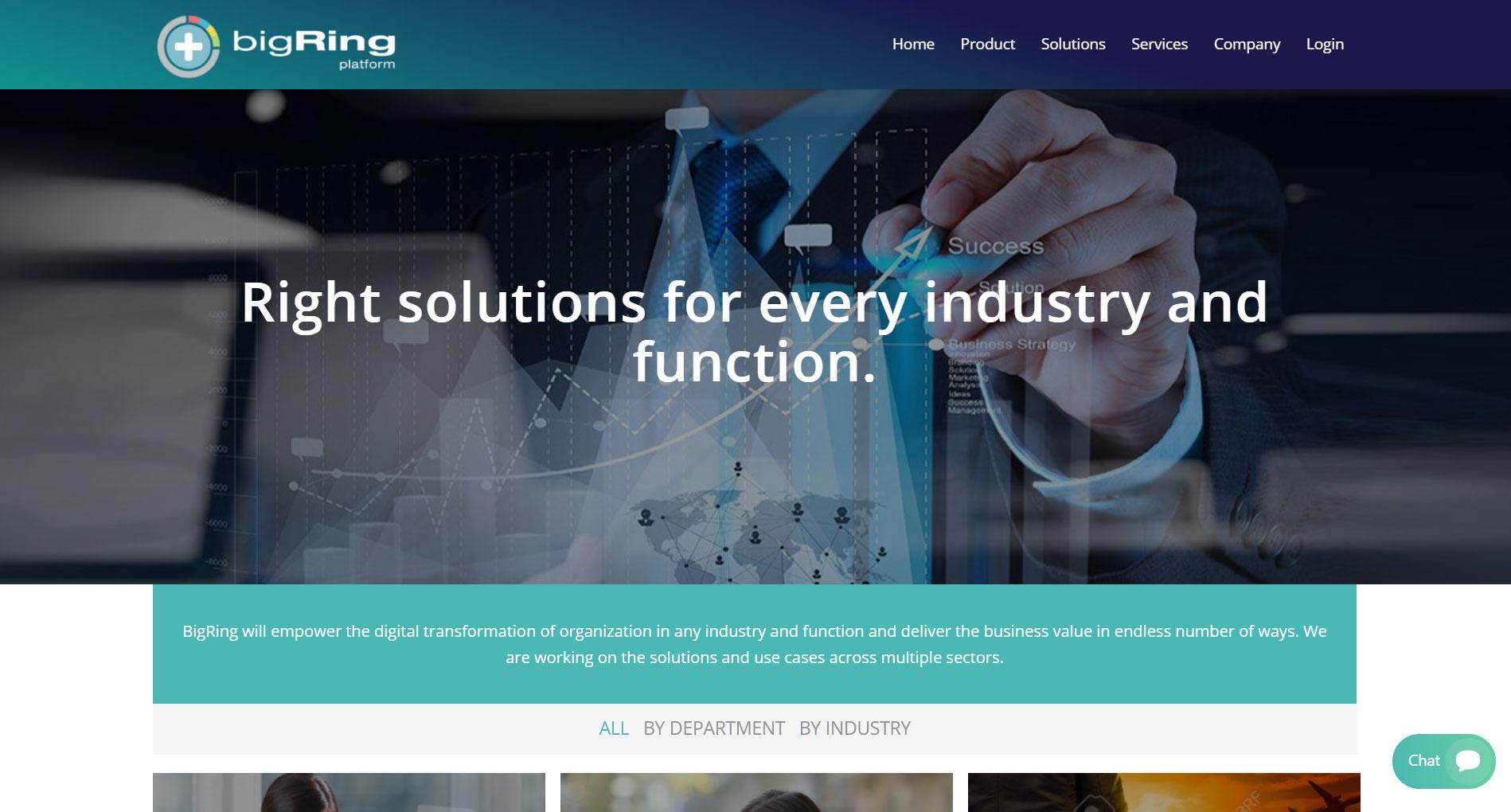 Webová Grafika - Big Ring